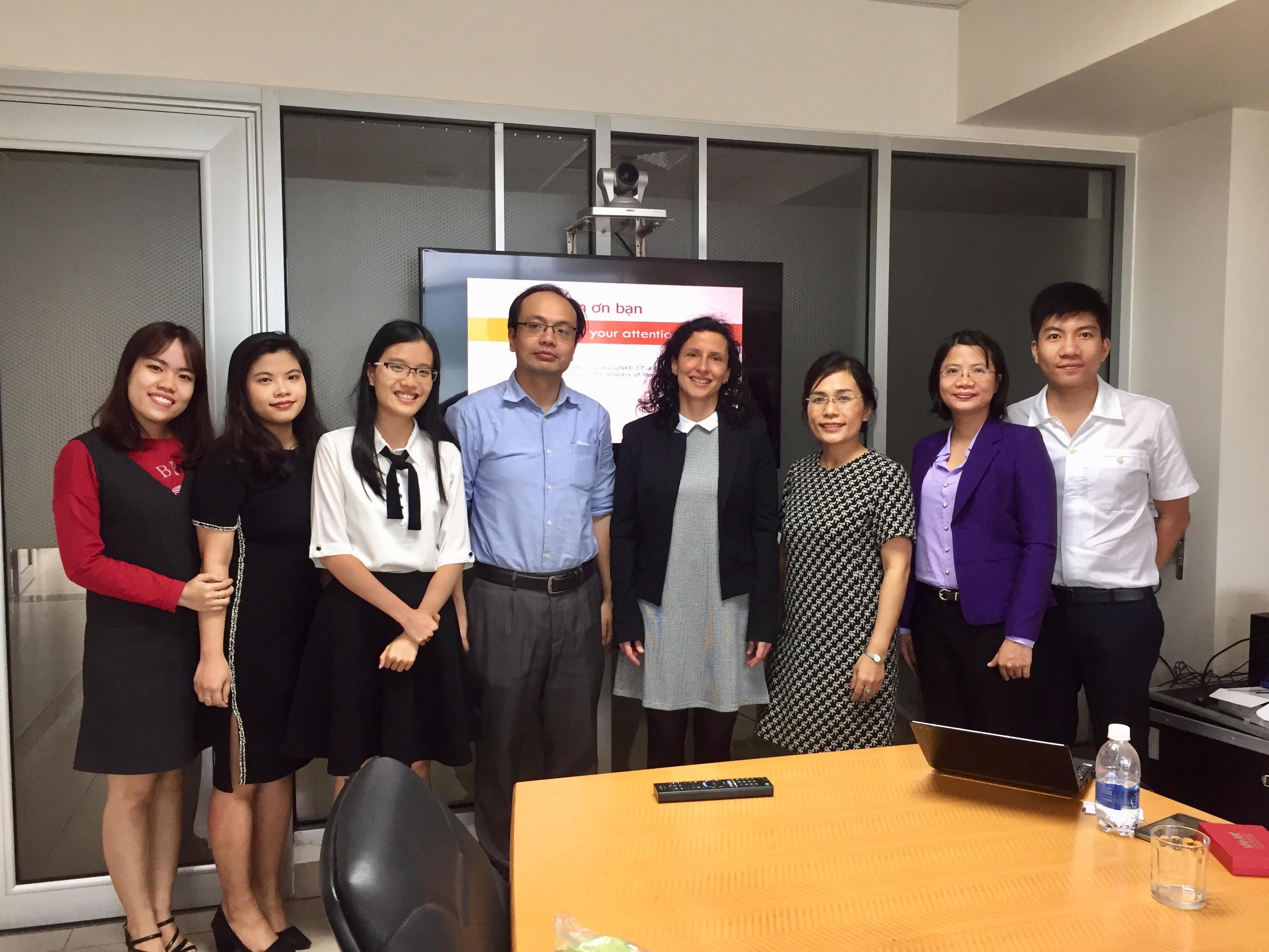 Chuyến thăm VNUK của đại diện đến từ Đại học Obuda!